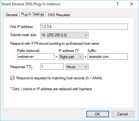 Smart Reverse DNS plug-in