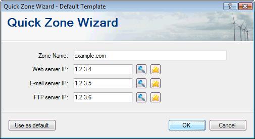 Quick Zone Wizard